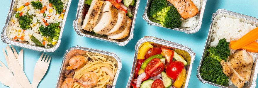 livraison de plateaux repas